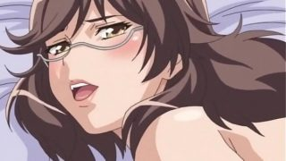 Delicate Anime Daughter Gives Titjob With Cumshot