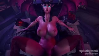 Succubus getting dicked down