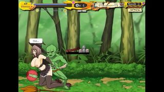 Witch girl hentai game new gameplay Cute girl having sex with goblins and orks in hot sexy hentai game